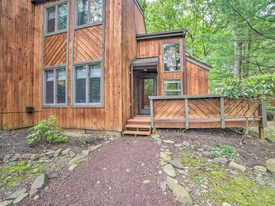 Photo for NEW! Pocono Mountains Townhome w/ Deck + Grill!