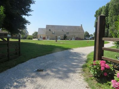 Photo for Near Omaha Beach, Character House, 5 Bedrooms, 3 Bath, 240 Meters