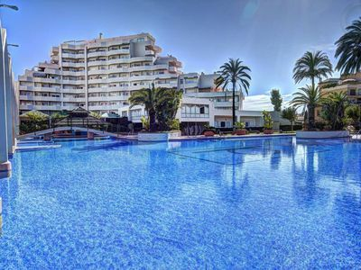 Photo for Benalbeach 1 bedroom apartment with sea views
