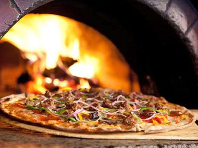 Photo for Pizza Brick Oven Cabin in the woods