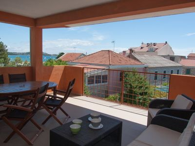 Photo for Apartment Sime A2 with balcony in Villa Vulin, 150m from  the beach!