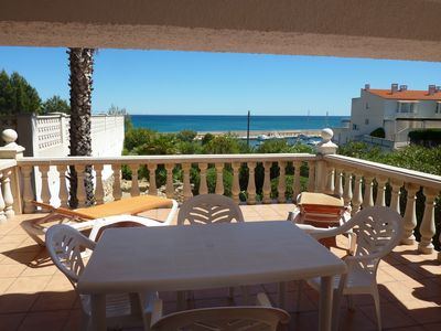 Photo for Detached villa with private pool and sea views.