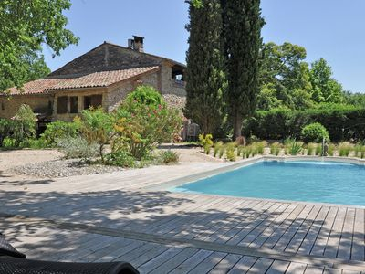Photo for Traditional Holiday Home with Swimming Pool in Fayence