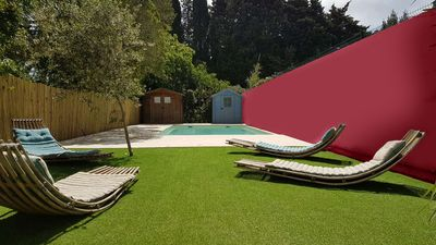 Photo for VILLA WITH SWIMMING POOL TWO STEPS FROM THE BEACHES AND THE CITY CENTER