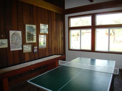 Game Room - Ping Pong and Shuffle Board