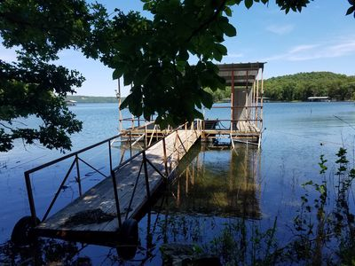 Dock for Fishing and Swimming