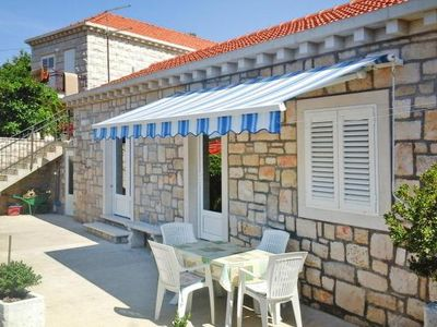 Photo for holiday home, Lumbarda  in Korcula - 2 persons, 1 bedroom