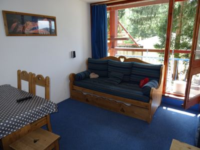 Photo for Les Arcs 1800 - Residence in the heart of the resort - 4 people - Comfortable