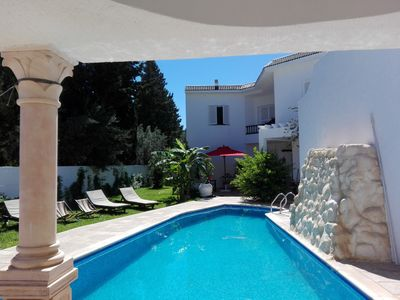 VILLA SINDBAD 5 minutes walk from the beach & pool without any opposite *