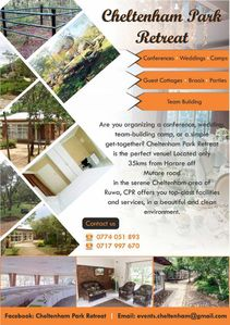 Photo for CHELTENHAM PARK RETREAT, RUWA, HARARE, ZIMBABWE