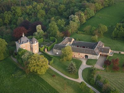 Photo for Aachen, Liège, Maastricht :Outbuilding of a castle