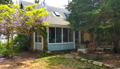 Photo for Quiet Getaway Within Walking Distance Of All Oak Bluffs Has To Offer.