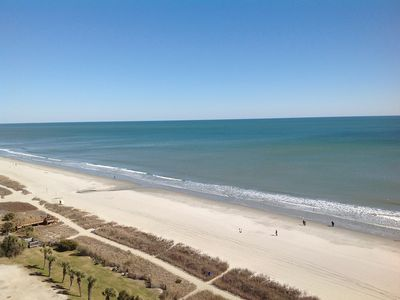 Photo for LUXURY OCEANFRONT CONDO. 2 beach chairs & umbrella included. BOOK NOW.
