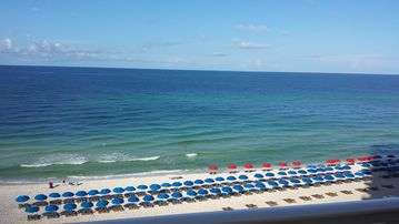Shores Of Panama 731 -  Gulf front VIEW! 2 reserved parking spots, 3/3 Bath
