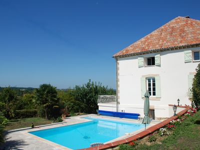 Photo for Country Home With Pool, Garden And Fab Views Across Orchards And Country Side