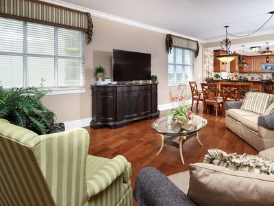 Photo for Third-floor, Gulf front condo w/ a shared pool, hot tub, & nearby dining!