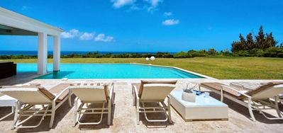 Villa Ambiance -  Ocean View - Located in  Beautiful Terres Basses with Private Pool