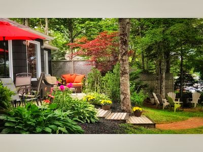 Photo for Luxury Getaways - Tranquility and Sunsets. Luxury Lakefront Cottage in Halifax