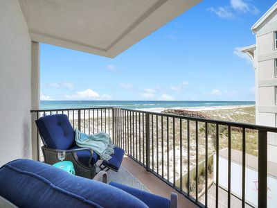 Photo for Beach Therapy......2 beach chairs and an umbrella included for your stay!!!