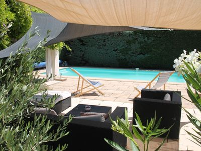 Photo for Rent Villa with pool 6/8 people near Aix en Provence
