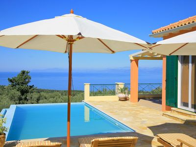 Photo for Villa Belvedere Rosa: Large Private Pool, Sea Views, A/C, WiFi