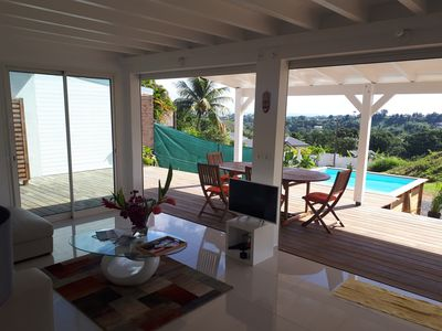 Photo for Superb villa Cinnamon modern comfort in Guadeloupe
