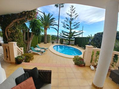 Photo for Casa Calma - 2 bedrooms, large garden and private pool.