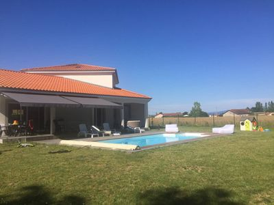 Photo for architect villa with heated pool