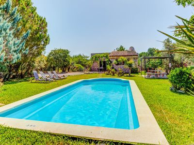 Photo for Villa Canaveret: Large Private Pool, A/C, WiFi