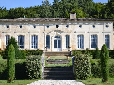 Photo for Chateau With Private Pool In A Vast Wood And A Park In A Formal French Style