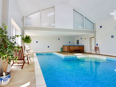Photo for Luxury barn with heated indoor pool & hot tub close to Durham City