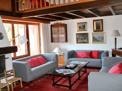 Photo for PRES FLEURIS, charming flat in Crans Montana