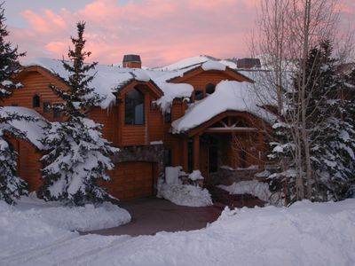 Photo for Spectacular Private Mountain Home-5 minute, easy walk to Silver Lake ski lifts!