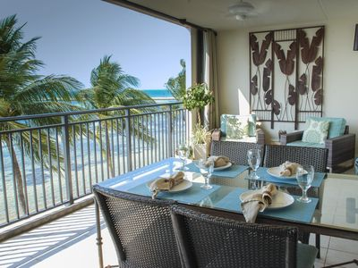 Salacia- Luxury 2/2 Ocean-front condo- Gated Key West Beach Club