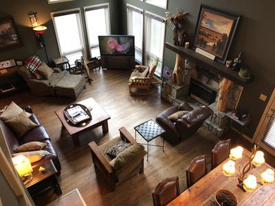Photo for Blowing Rock / Appalachian Ski Mountain Home- 4 Bedroom / 3 Full Baths / 2 Lofts