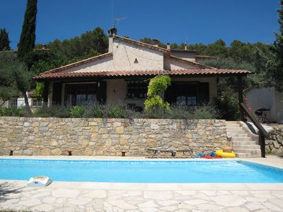Photo for Provencal house with private pool located on the edge of the picturesque Cotignac