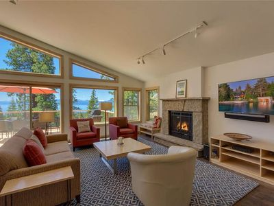 Photo for Highland's View - Lakeview: 4 BR / 3.5 BA four bedrooms in Tahoe City, Sleeps 8