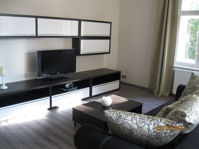 Photo for Close to historical center, new and stylish apartment in a quiet villa, conservatory, wifi