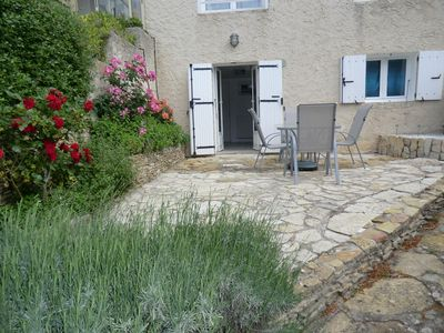 Photo for Apartment with south terrace in quiet countryside near beaches and creeks of Cassis