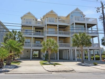 Photo for SEA & SOUND VIEW W/ ELEVATOR, 13 BEDS!! & 1 block from beach access!!