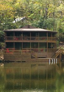 New Sun Deck and Boat Dock