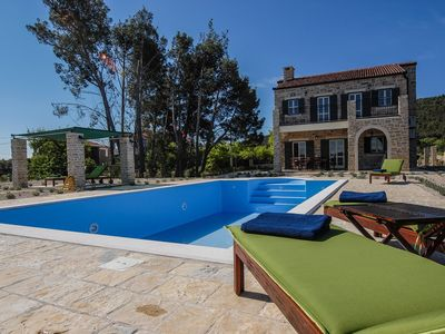 Photo for Villa Papini dvori, in Dalmatia, with a Pool