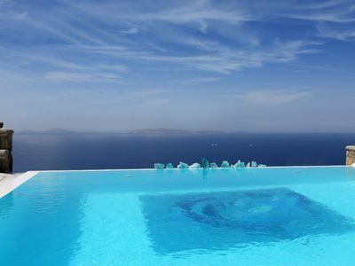Photo for Delos View - Luxury 6 Bedroom Villa - Mykonos