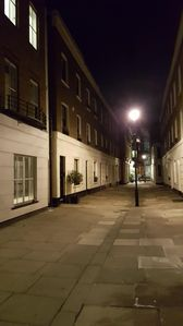 """The """"Mews"""" Street and the property"""