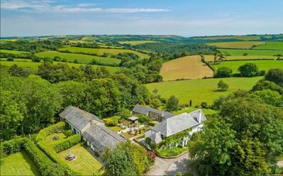 Photo for The Corn Barn -4 bedroom family friendly luxury barn conversion near Looe