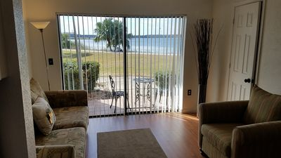 Photo for Stay in the Middle  of the Magic in lakefront 1 bdrm villa near I Drive & Disney