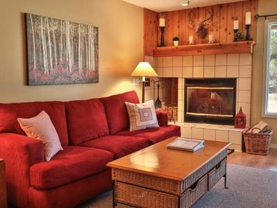 Jacuzzi Tub, Kitchen, Wood Burning Fireplace - Trout Creek Condo #61 - 1 Bedroom