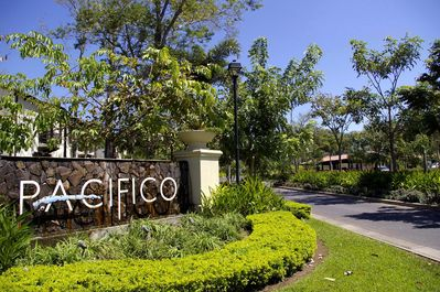 Entrance Pacifico - Pacifico is a gated and secure community.