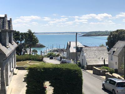 Photo for Saint-Cast : magnificent house with garden and sea view. Close to Harbour.