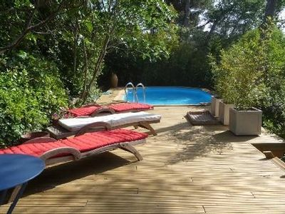 Photo for Nice country villa with swimming pool, in Aix en Provence, for 6 people